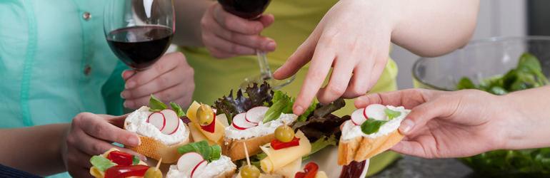 Como funciona um buffet a domicílio? Entenda!