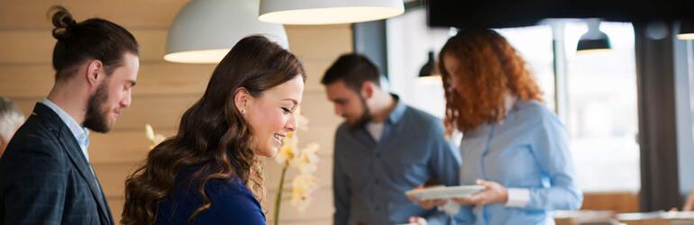Saiba como planejar um buffet de eventos corporativos